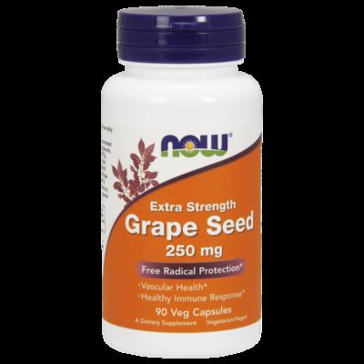NOW Foods Grape Seed 250mg (90 kapszula)