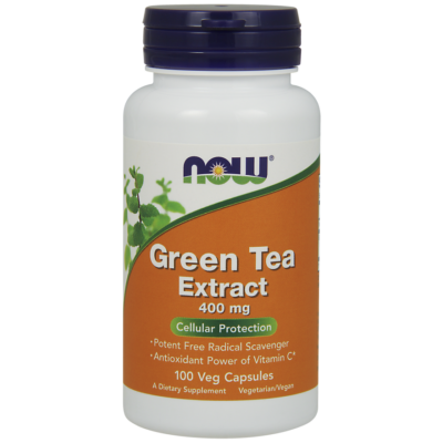 NOW Foods Green Tea Extract 400mg (250 kapszula)