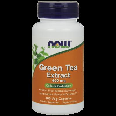 NOW Foods Green Tea Extract 400mg (100 kapszula)