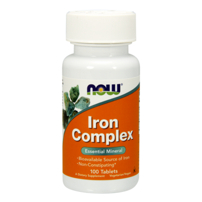 NOW Foods Iron Complex (100 tabletta)