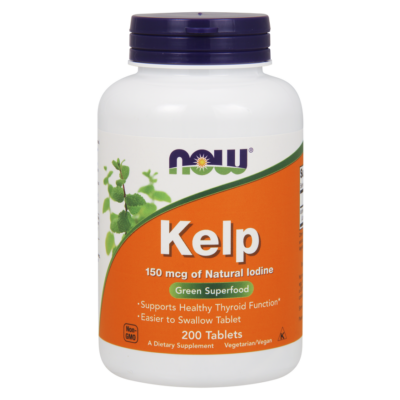 NOW Foods Kelp 150mcg (200 tabletta)