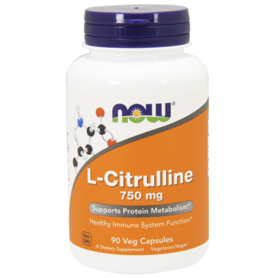 NOW Foods L-Citrulline 750mg (90 kapszula)