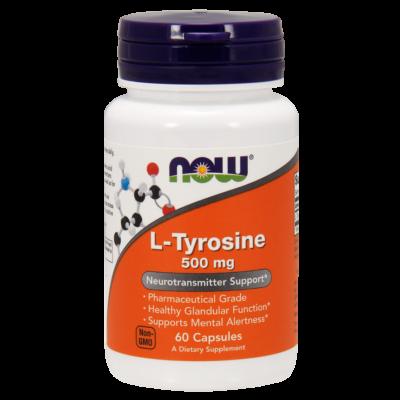 NOW Foods L-tyrosine 500mg (60 kapszula)