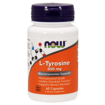 NOW Foods L-tyrosine 500mg (60 kapszula)