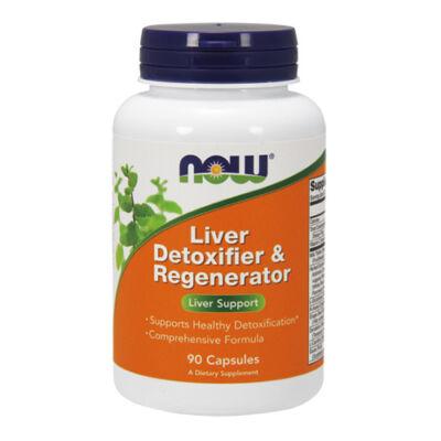 NOW Foods Liver Detoxifier & Regenerator (90 kapszula)
