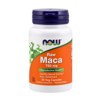 NOW Foods Maca 750mg Raw (30 kapszula)