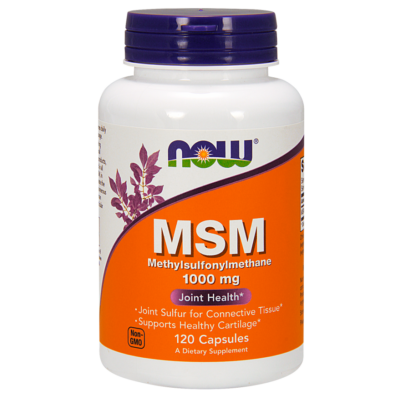 NOW Foods MSM 1000mg (120 kapszula)