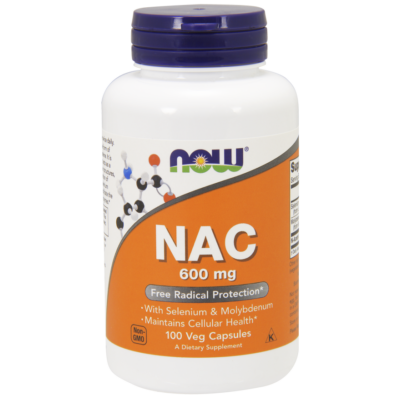NOW Foods NAC 600mg (100 kapszula)