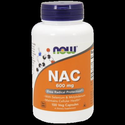 NOW Foods NAC 600mg (100 kapszula)