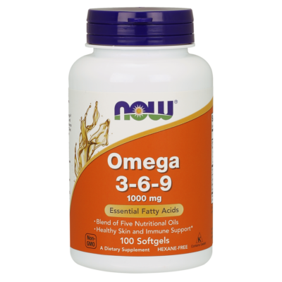 NOW Foods Omega 3-6-9 1000mg (100 lágy kapszula)