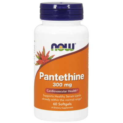NOW Foods Pantethine 300mg (60 lágykapszula)