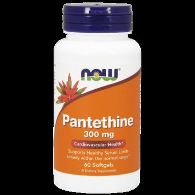 NOW Foods Pantethine 300mg (60 lágykapszula)