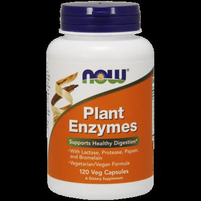 NOW Foods Plant Enzymes (120 kapszula)
