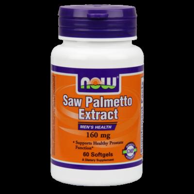 NOW Foods Saw Palmetto Extract 160mg (60 lágy kapszula)