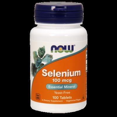 NOW Foods Selenium 100mcg (100 tabletta)