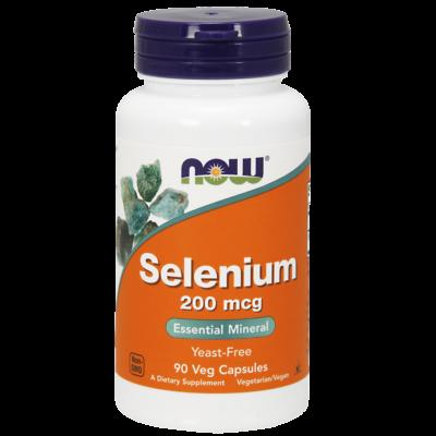 NOW Foods Selenium 200mcg (90 kapszula)