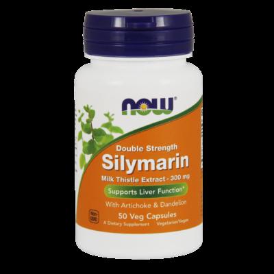 NOW Foods Silymarin 300mg (50 kapszula)