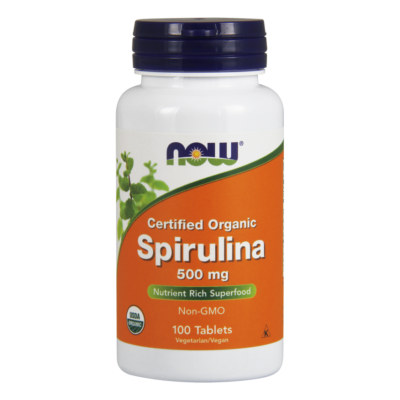 NOW Foods Spirulina 500mg (500 tabletta)