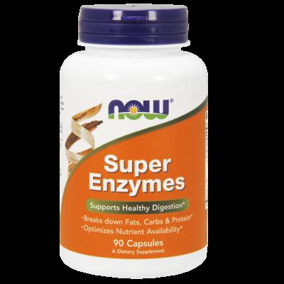 NOW Foods Super Enzymes (90 kapszula)