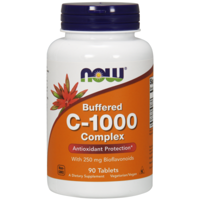 NOW Foods C-1000 Complex, Buffered (90 tabletta)