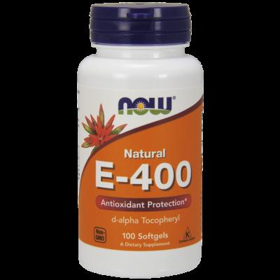 NOW Foods Vitamin E-400 IU (100 lágy kapszula)