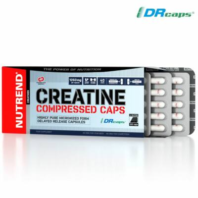 Nutrend Creatine Compressed Caps (120 kapszula)