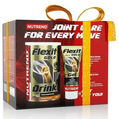 Nutrend Flexit Gold Drink (400g) + Flexit Gold Gel (100g)