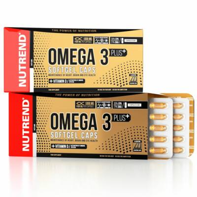 Nutrend Omega 3 Plus Softgel Caps (120 kapszula)