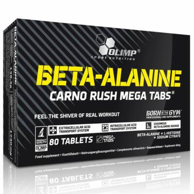 Olimp Beta-Alanine Carno Rush (80 tabletta)