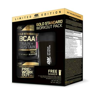 Optimum Nutrition Gold Standard Workout Pack (LIMITED EDITION)