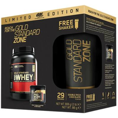 Optimum Nutrition Gold Standard Zone Pack (LIMITED EDITION)