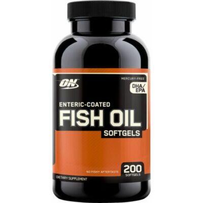 Optimum Nutrition Fish Oil (200 lágy kapszula)