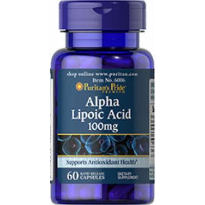 Puritan's Pride Alpha Lipoic Acid 100mg (60 kapszula)