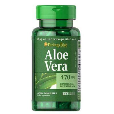 Puritan's Pride Aloe Vera 470mg (100 kapszula)