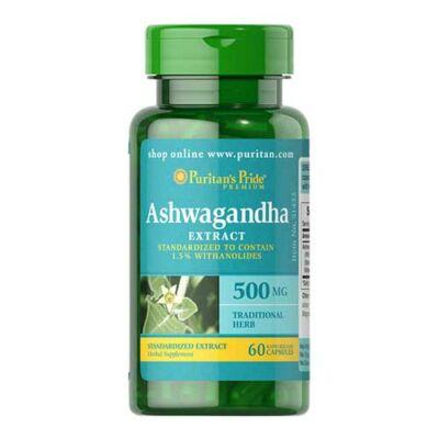 Puritan's Pride Ashwagandha Extract 500mg (60 kapszula)