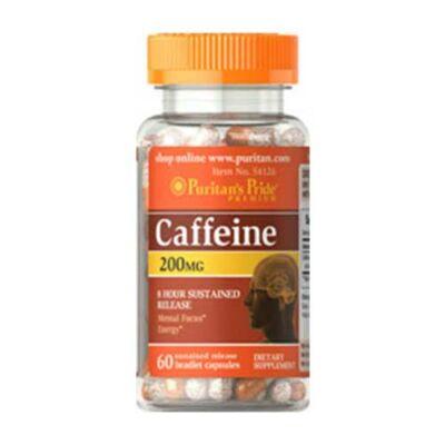 Puritan's Pride Caffeine 200mg (60 kapszula)