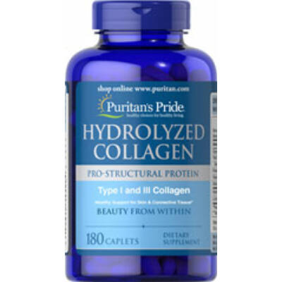 Puritan's Pride Hydrolyzed Collagen (180 tabletta)