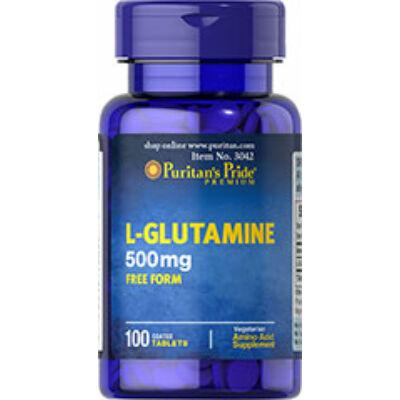 Puritan's Pride L-glutamine 500mg (100 tabletta)
