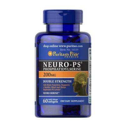 Puritan's Pride Neuro-PS (Phosphatidylserine) 200 mg (60 lágy kapszula)