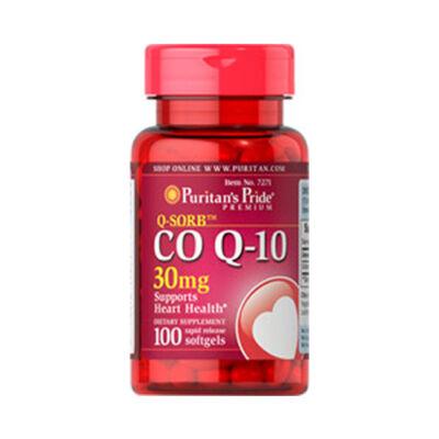 Puritan's Pride Q-SORB™ CO Q-10 30mg (100 lágy kapszula)
