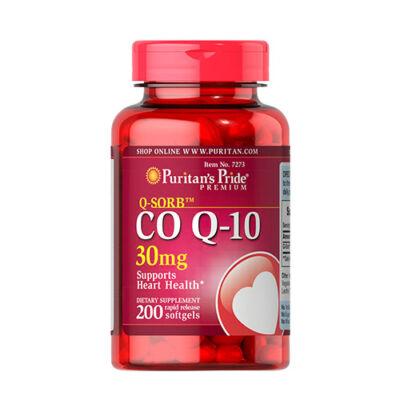 Puritan's Pride Q-SORB™ CO Q-10 30mg (200 lágy kapszula)