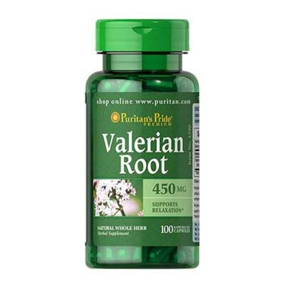 Puritan's Pride Valerian Root 450mg (100 kapszula)