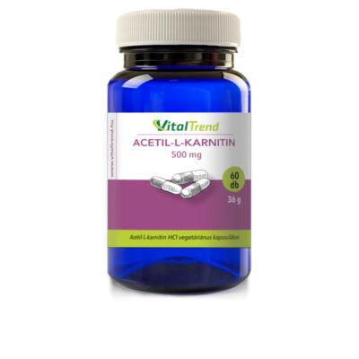 Vital Trend Acetil-L-karnitin 500mg (60 kapszula)