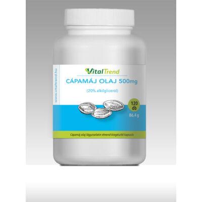 Vital Trend Cápamáj olaj 500 mg (120 kapszula)