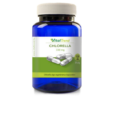 Vital Trend Chlorella 330mg (120 kapszula)