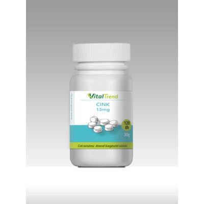 Vital Trend Cink 15mg (120 tabletta)