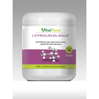 Vital Trend L-Citrullin DL-Malát 2:1 por