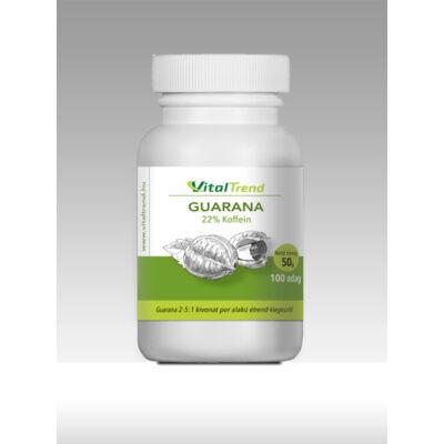 Vital Trend Guarana kivonat por (22% koffein)