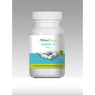 Vital Trend K2-vitamin (MK-7) vega (60 kapszula)