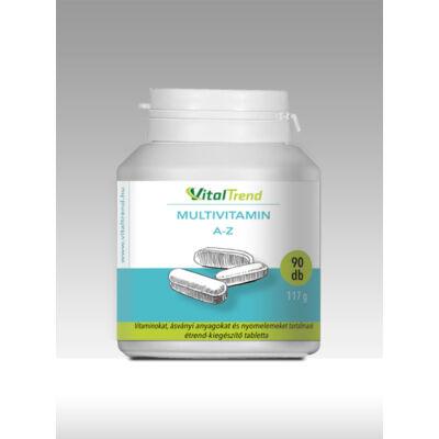 Vital Trend Multivitamin A-Z (90 tabletta)